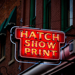 Hatch Show Print (Thomas Hawk) Tags: usa neon unitedstates nashville tennessee unitedstatesofamerica broadway hatchshowprint fav10
