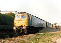 47478 (R~P~M) Tags: uk greatbritain england train diesel unitedkingdom railway gloucestershire locomotive cheltenham britishrail 47 glos