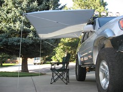 Shady Boy Awning on Toyota 4Runner 5