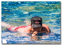 20150712_1507 (gabrielpsarras) Tags: camera blue sea summer water hat swimming swim lumix aqua underwater deep panasonic greece swimmer shooting waterproof