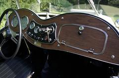 1951 MG TD pic 6 (carlylehold) Tags: auto city robert car museum club little cream ivory mg kansas british kc 1951 lbc td haefner robertchaefner td6036 kcmgcc