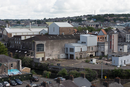 VIEWS OF THE CITY FROM THE WALLS OF ELIZABETH FORT [CORK] REF-106661