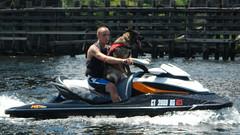 Happy Dog (blazer8696) Tags: 2015 connecticut crrr crrr2015 ct ecw middletown portland race raft river t2015 unitedstates usa boat dog dscn8654 german seadog seadoo shepherd rtect066 rtect009 rtect017