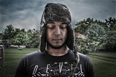 Wears Prada (kimberlykay82) Tags: portrait sky guy surrealism grunge surreal gritty hdr