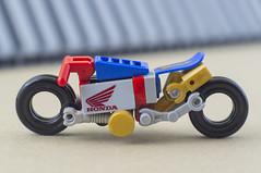Nobu and his Honda Ahoudori (04) (F@bz) Tags: cyberpunk bike motorcycle lego wheel sf space scifi akira honda moc