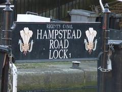 Camden Lock - Hampstead Road Lock - sign (ell brown) Tags: camdentown camden london greaterlondon england unitedkingdom greatbritain londonboroughofcamden camdenhighstreet camdenhighst highst canals regentscanal theregentscanal camdenlock camdenlocks hampsteadroadlock canalrivertrust sign lock