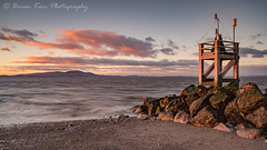 New Years Day 2017 (.Brian Kerr Photography.) Tags: happynewyear newyearsday silloth westbeach cumbria seascape criffel solway solwayfirth scotland briankerrphotography briankerrphoto landscapephotography cold windy sunset sonyuk a7rii