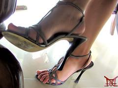 Playful (Claudio (Tania Zandalz - wife)) Tags: high heels shoes fetish mature sexy latina kapikua1 milf female woman wife amateur mexico feet toes arch strappy sandals tacones altos zapatos fetiche madura femenina mujer esposa pies dedos arco tiras sandalias
