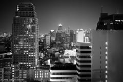 Bangkok lights - II (Theunis Viljoen LRPS) Tags: bangkok city thailand buildings skyline