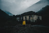 Enveloping fog (Alex Karamanov) Tags: portrait landscape light rock mountains mood atmosphere outdoor color vsco travel nature surreal people contrast grassland summer canyon trip hill mountainside ridge edge dawn melancholy lake trees tranquility sky clouds mountain caucasus wild autumn abkhazia abandoned himsa cliff crag arete foothill serenity calmness girl