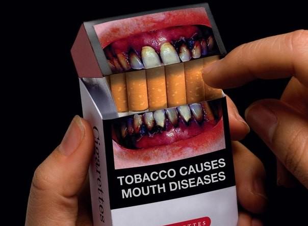 В2017-м году иллюстрации напачках сигарет станут еще ужаснее