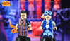 Custom LEGO LazyTown: Robbie Rotten & Sportacus (LegoMatic9) Tags: lazytown we are number one sportacus robbie rotten lego