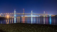 Forth Road Bridge-2.jpg (___INFINITY___) Tags: 6d bridge river architect architecture blue canon darrenwright dazza1040 eos forthroadbridge infinity light longexposure night reflection scotland stars