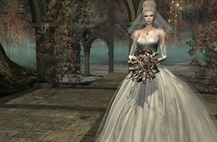 Countess Bridal (Jamee Sandalwood - Miss V♛ SWEDEN 2015) Tags: sl secondlife showformalrunwaygown stylesbydanielle bridal bride memorial tribute gown formal