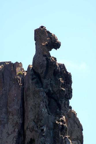Îlot de Strombolichio / Rocher volcanique