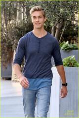 140999PCNEX_AustinN (flowerrose5) Tags: blonde disneychannel disneystar ididntdoit jeans nikesneakers graysneakers blueshirt longsleeveshirt losangeles california usa