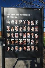 flight 93 victims (Mycophagia) Tags: flight93 911 memorial pennsylvania victims airline flight terrorism september11 georgebush passport photo id
