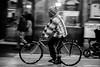 El que no corre ni vuela... pedalea. (cefuenco) Tags: fotografíacallejera streetphotography originalphotographer originalphotography blancoynegro blackandwhite cdmx cycle bicicleta noche night panning barrido