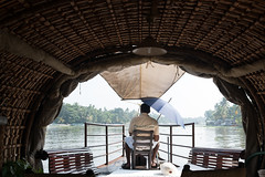 PhotAsia - Alleppey, Kersala, India (Photasia) Tags: alleppey asia india kerala photasia southindia boats canals cruise houseboat landscape skipper waterways