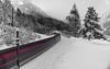 Rail Jet (raimundl79) Tags: wow zug train bestpicture explore exploreme entdecken fotographie flickrr flickrexploreme lightroom ländle longexposure langzeitbelichtung österreich vorarlberg austria alpen tamron2470mm travel nikon nikond800 d800 braz arlberg klöstele winter weiss schnee snow