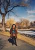 Chiara in Boston (Robert Barone) Tags: 1988 boston chiara italians italiani