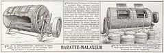 Baratte-Malaxeur (Université de Caen Normandie) Tags: bibliothèquehistoriqueduministèredelagriculture bibagri mrsh industrielaitière lait barattes