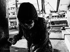 Hood (Meljoe San Diego) Tags: meljoesandiego ricoh ricohgr gr streetphotography street candid blackwhite grain