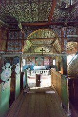 Decorated Uvdal Stave Church (villeah) Tags: norway decorations architecture interior uvdalstavechurch church uvdal buskerud no