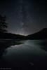 Lago Calamone (Olmux82) Tags: lago calamone appennino reggiano italy reggio emilia romagna stelle star stars milk way night photo ventasso nikon d750
