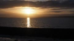 In between! (mpersson60) Tags: sverige sweden gotland solnedgång sunset hav sea moln clouds