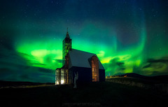 Faith in nature (el_farero) Tags: iceland aurora northernlights church canon 5d nightshot golden circle islandia night longexposure cps stars