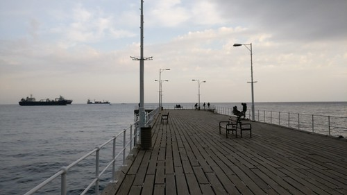 Pier at Limassol Marina