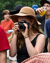 Rebel with a Hat (ramseybuckeye) Tags: life columbus ohio art hat festival canon photographer pentax comfest comfest2015