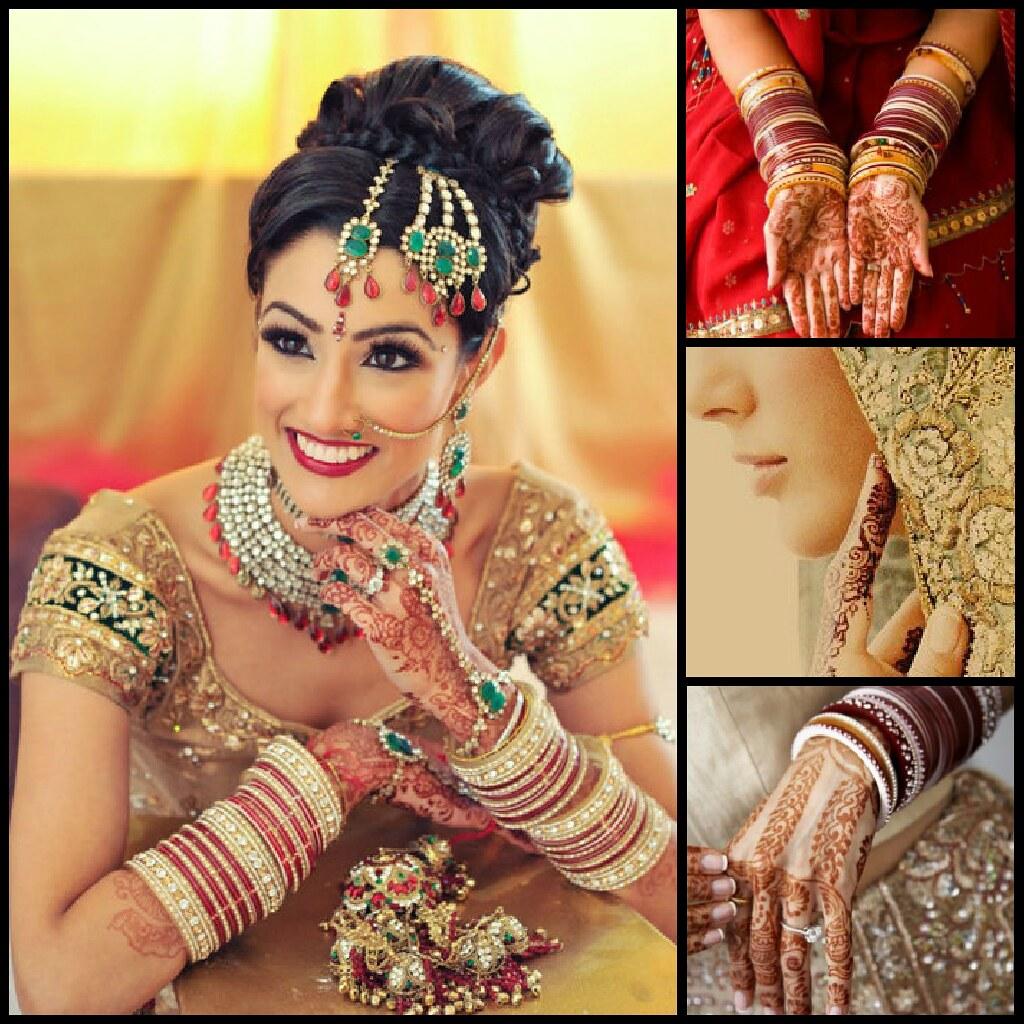 8Nghệ thuật vẽ Henna thường được sử dụng xăm trên người cô dâu như những lời chúc phúc