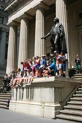 Federal Hall (Brian Aslak) Tags: city nyc newyorkcity people urban usa newyork unitedstates manhattan financialdistrict northamerica metropolis wallstreet lowermanhattan federalhall