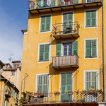 Les façades jaunes - Nice thumbnail
