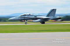 Cf-18 landing (Warren Qc) Tags: canada army fly airport force quebec military air flight off canadian landing take 18 takeoff saguenay cf forces militaire armee cf18 spectacle decollage bagotville aerien saib aterrisage
