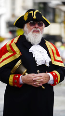 Town Crier (Morgan Masters photography) Tags: street city portrait england colour heritage colors army town colorfull military streetphotography surrey soldiers british guildford towncrier colourfull armedforcesday