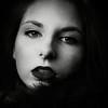 Complexe (Christine Lebrasseur) Tags: portrait people blackandwhite woman france art 6x6 canon fan feathers teenager fr onblack gironde 500x500 léane saintloubes allrightsreservedchristinelebrasseur