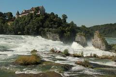 Schlsschen Wrth ( Schloss - Chteau - Castle - Baujahr 12.  19. Jahrhundert - Heute Restaurant  ) am Rheinfall ( Wasserfall - Frher Grosser Laufen - Rhyfall - Chutes du Rhin -  Cascate del Reno ) des Rhein ( Hochrhein ) bei Neuhausen am Rheinfall im K (chrchr_75) Tags: chriguhurnibluemailch christoph hurni schweiz suisse switzerland svizzera suissa swiss chrchr chrchr75 chrigu chriguhurni juli 2015 hurni150701 juli2015 albumzzz201507juli schloss chteau castle castello laufen schlosslaufen zrcher weinland kantonzrich kanton zrich albumschlsserkantonzrich zri kasteel   castillo mittelalter geschichte history gebude building archidektur albumschweizerschlsserburgenundruinen wrth schlosswrth albumschlsserkantonschaffhausen kantonschaffhausen schaffhausen rhein rhin reno rijn rhenus rhine rin strom europa albumrhein fluss river joki rivire fiume  rivier rzeka rio flod ro