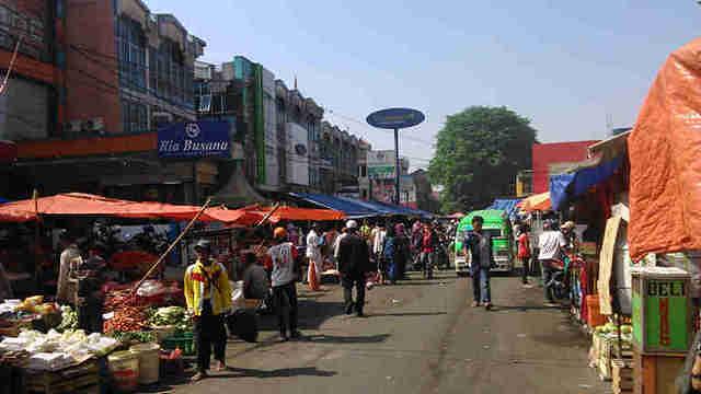 Pedagang Kaki Lima di Bogor