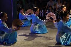 IMGP8985 () Tags: beautiful fan dance chinese classical aura elegance