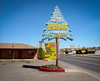 The Blue Spruce Lodge, Gallup, New Mexico (peter barwick) Tags: kodak portra mamiyarz67 vintagemotelsigns