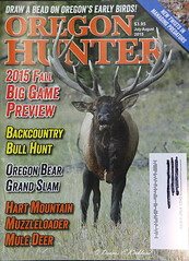 Tear Sheet OHA Cover _DEK_6803 (DennisKirkland) Tags: fall published bull cover elk rut tearsheet 2015 julyaugust bugling oregonhuntersassociation