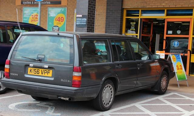 auto volvo estate 1992 gl 940 1986cc