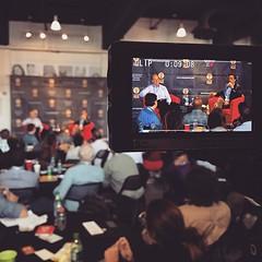 Live on stage at #artstation is Rich Ferrari at #lastartupprize2015 #downtownshreveport #entrepreneur #startup #business