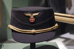 Peaked cap worn by Vidkun Quisling (liftarn) Tags: norway cap fascism samling peaked nasjonal quisling vidkun armmuseum