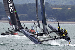 America's Cup (Bernie Condon) Tags: sea water sailing wind yacht hampshire racing solent sail americascup yachting