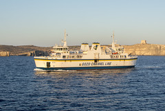 Gozzo Channel Line Ferry (Steve Millward) Tags: vacation holiday colour ferry 35mm nikon mediterranean ship outdoor scenic malta gozo comino d7100 stevemillward channelline stevemillwardcom