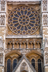 Rose Window, Facade Westminster Abbey (chasingthelight10) Tags: england london westminsterabbey landscapes unitedkingdom cityscapes places